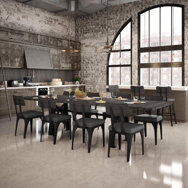 Everly 9 Piece Extendable Dining Set by 17 Stories 17 Stories