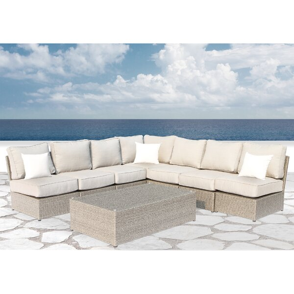 Winsford 8 Piece Sectional Set with Cushions by Rosecliff Heights