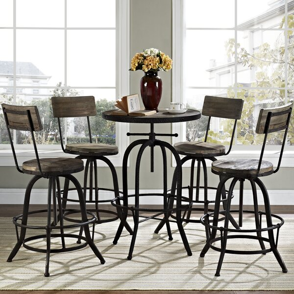 Gather 5 Piece Dining Set by Modway
