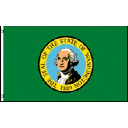 Washington State Traditional Flag by NeoPlex
