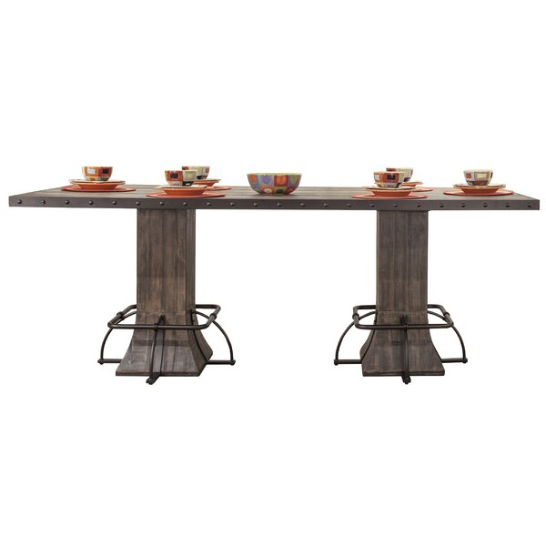 Cathie Rectangle Counter Height Dining Table by Gracie Oaks