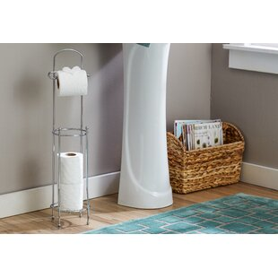 Wayfair Basics Toilet Paper Holder with Dispenser Bar ByWayfair Basics™