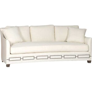 baldwin curved back sofa - Curved Loveseat