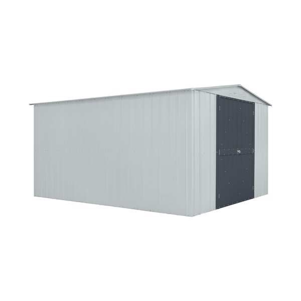 10 ft. W x 12 ft. D Metal Storage Shed by Globel