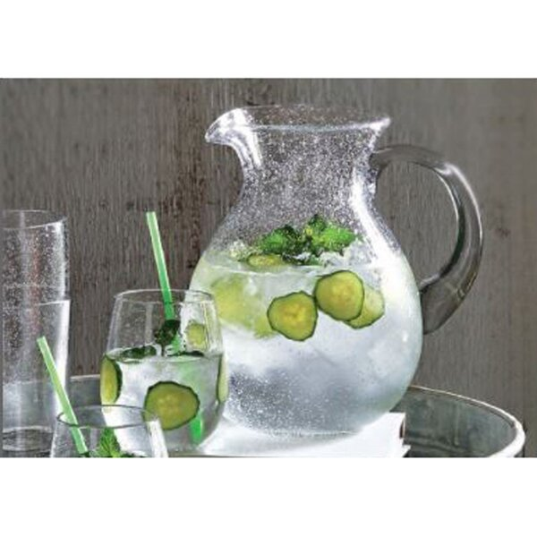 Bubble Glass Pitcher by TAG