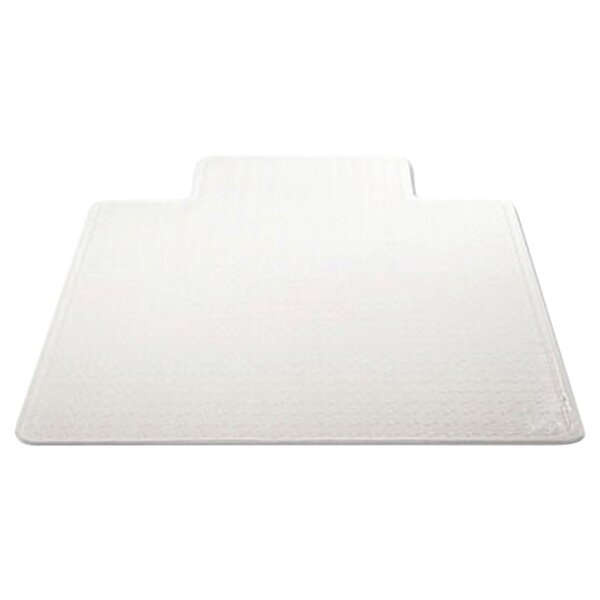 Low Pile Carpet Beveled Edge Chair Mat by Deflect-O