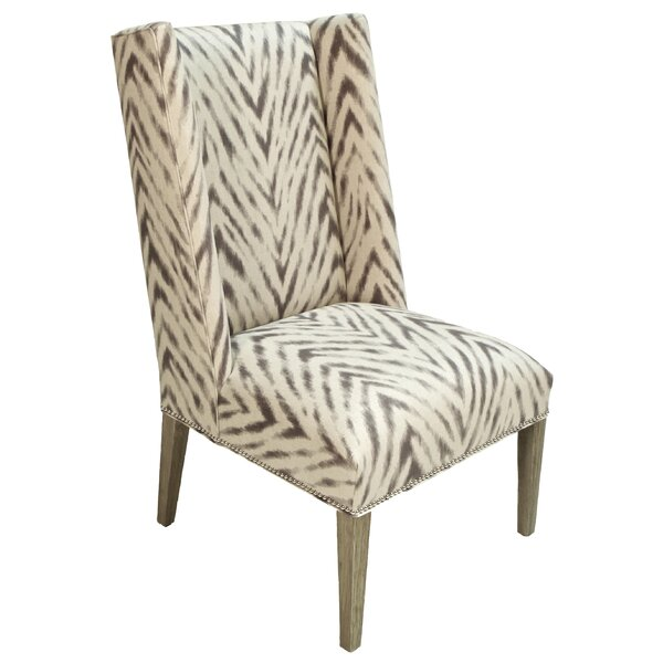 Clay Wingback Chair by World Menagerie