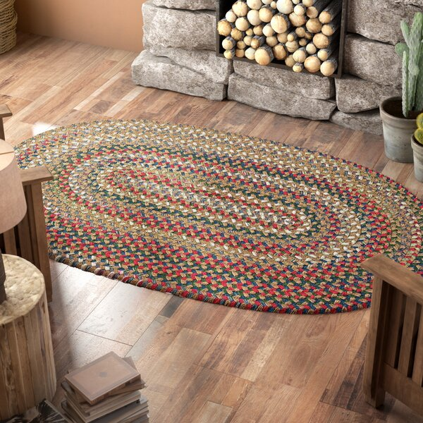Roxborough Park Straw Beige Area Rug by Loon Peak