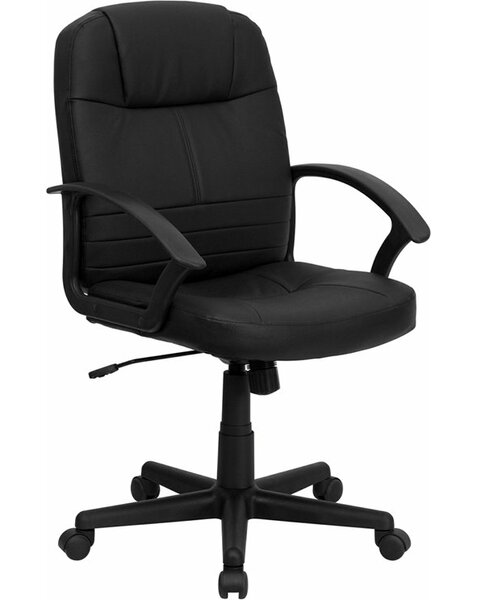 Kruger Mid-Back Ergonomic Executive Chair by Symple Stuff