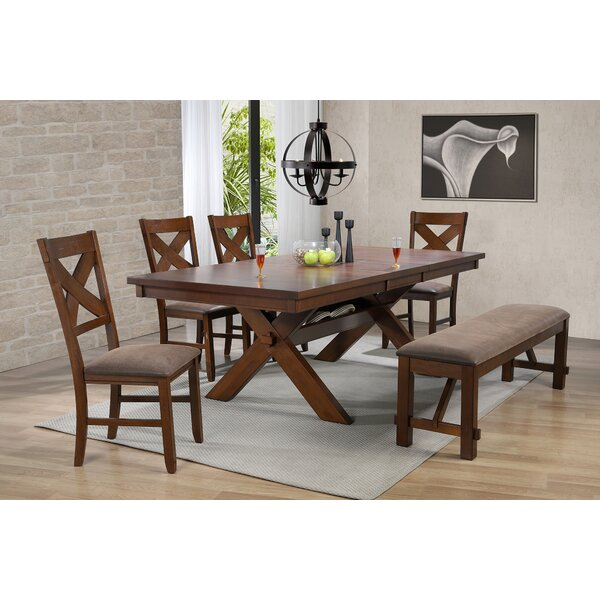 Grenier Live Edge Look 7 Piece Dining Set by Gracie Oaks
