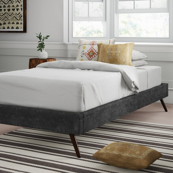 Zutphen Upholstered Platform Bed by Mistana