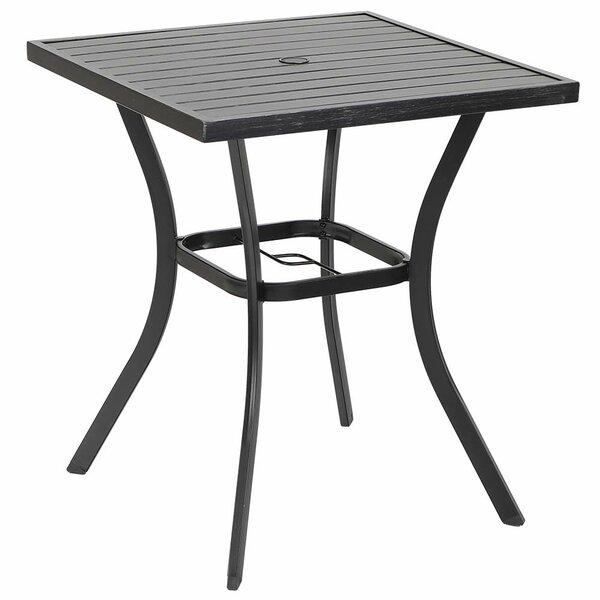 Mindaugas Steel Dining Table by Latitude Run Latitude Run