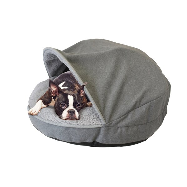 Precious Tails Hooded/Dome Dog Bed by Precious Tai