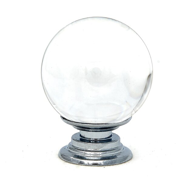 Crystal Glass Round Knob by Shabby Restore