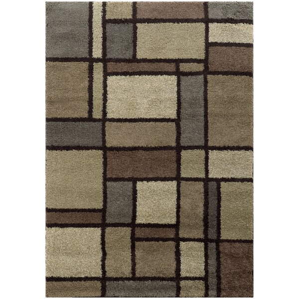 Albright Beige/Midnight Area Rug by Latitude Run