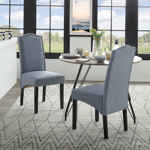 Procter Upholstered Dining Chair (Set of 2) by One Allium Way