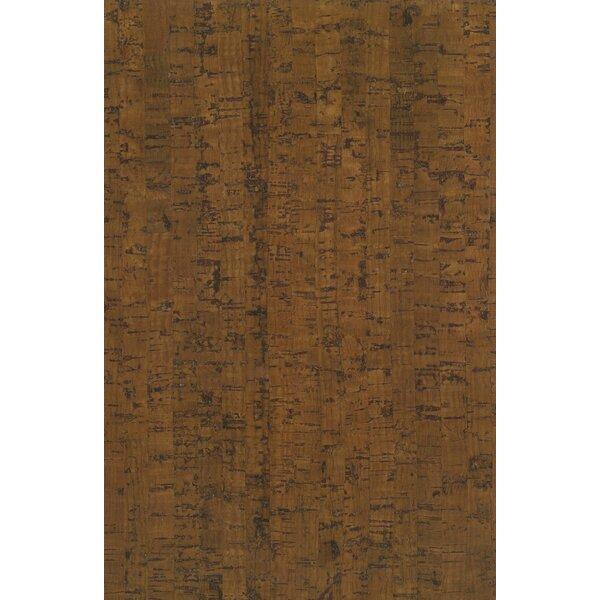 7-16/25 Planks - Micro Bevel Cork Flooring in Line Mocha by Albero Valley