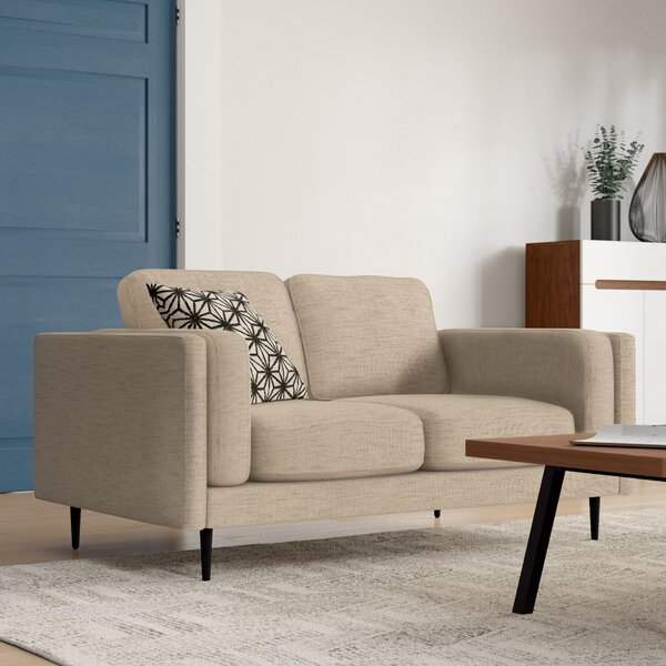 Cassidy Retro Mid-Century Loveseat by Modern Rustic Interiors