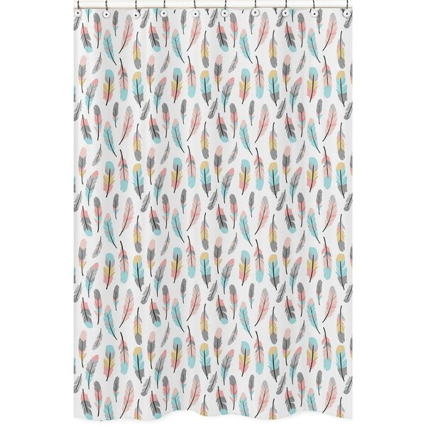 Feather Shower Curtain by Sweet Jojo Designs