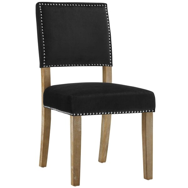 #1 Trever Upholstered Dining Chair By Gracie Oaks Cheap