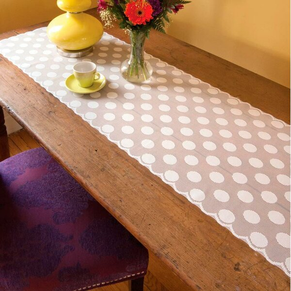 Haughton Polka Dot Table Runner by Darby Home Co