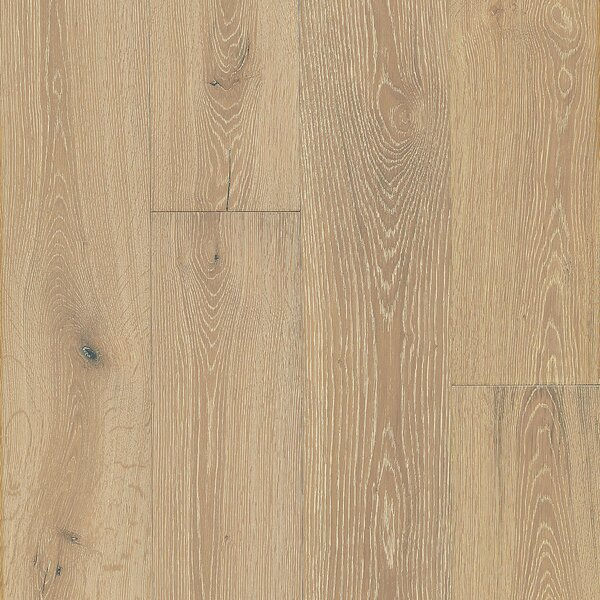 7-1/2 Engineered Oak Hardwood Flooring in Limed Dove Tint by Armstrong Flooring