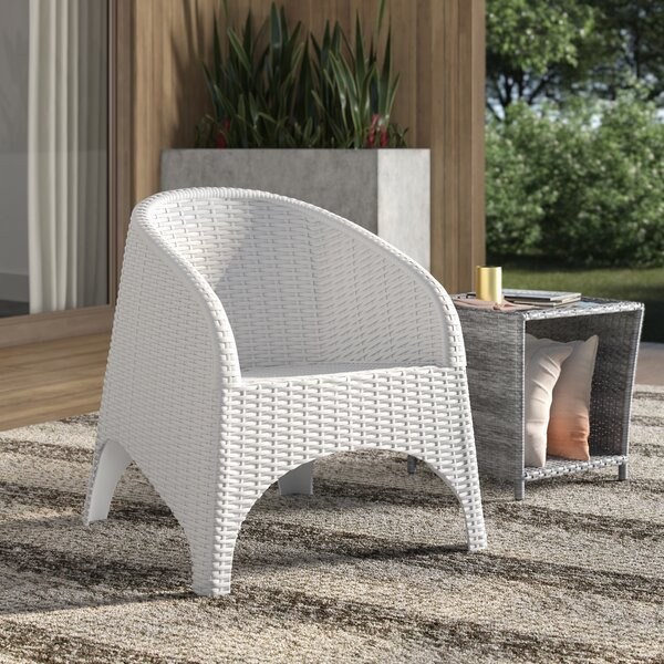 Jayne Stackable Patio Chair (Set of 2) by Mercury Row