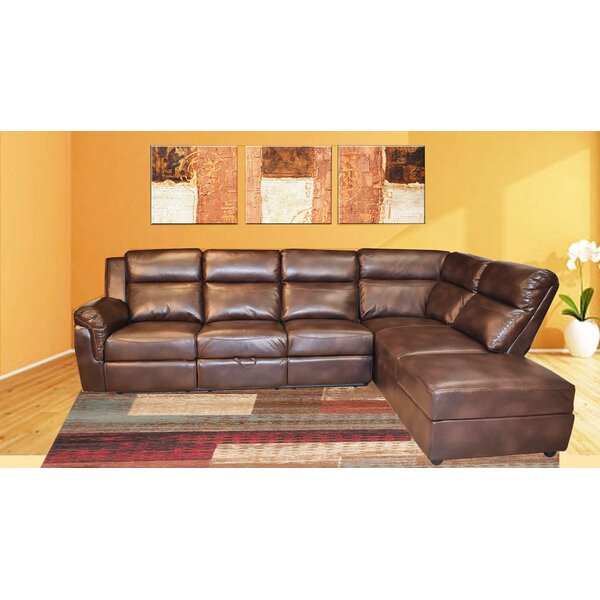Weekend Choice Sadowski Right Hand Facing Reclining Sectional by Red Barrel Studio by Red Barrel Studio