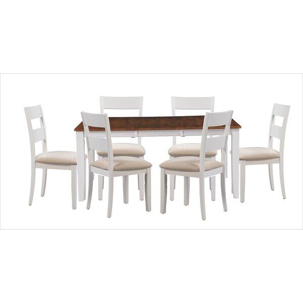 Bennet 7 Piece Extendable Dining Set by Alcott Hill