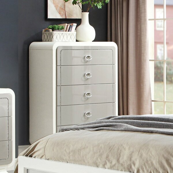 Severus 5 Drawer Chest by Rosdorf Park