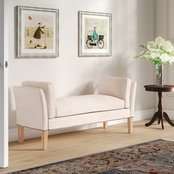 Renhold Upholstered Bench By Canora Grey Coupon