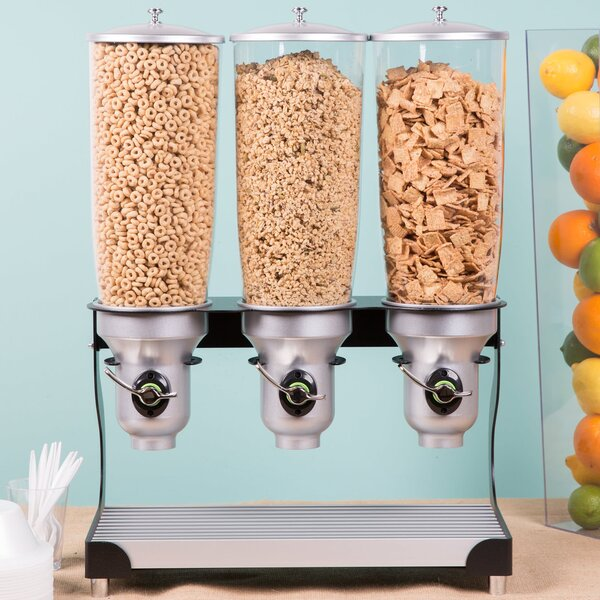 50.72 Oz. Single Canister Cylinder Cereal Dispenser by Cal-Mil