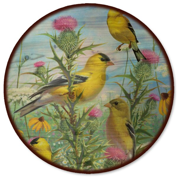 Golden Glories Lazy Susan by WGI-GALLERY