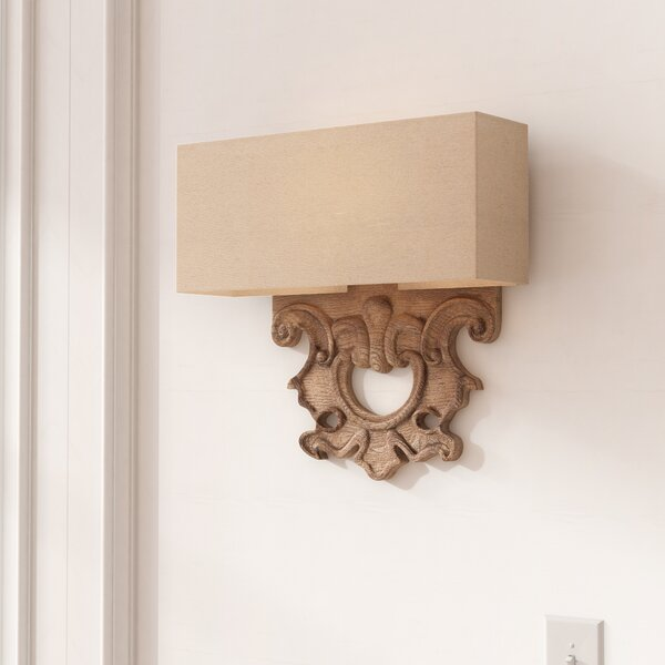 Anaya 2-Light Wall Sconce by Astoria Grand