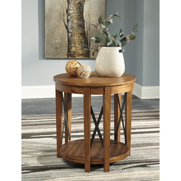 Demi End Table by Millwood Pines