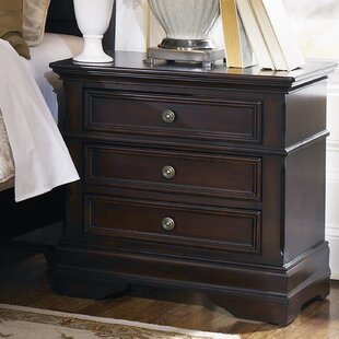 Affordable Gilmer 3 Drawer Nightstand by Astoria Grand