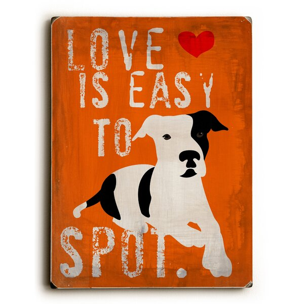 Love Is Easy to Spot Vintage Advertisement by Artehouse LLC