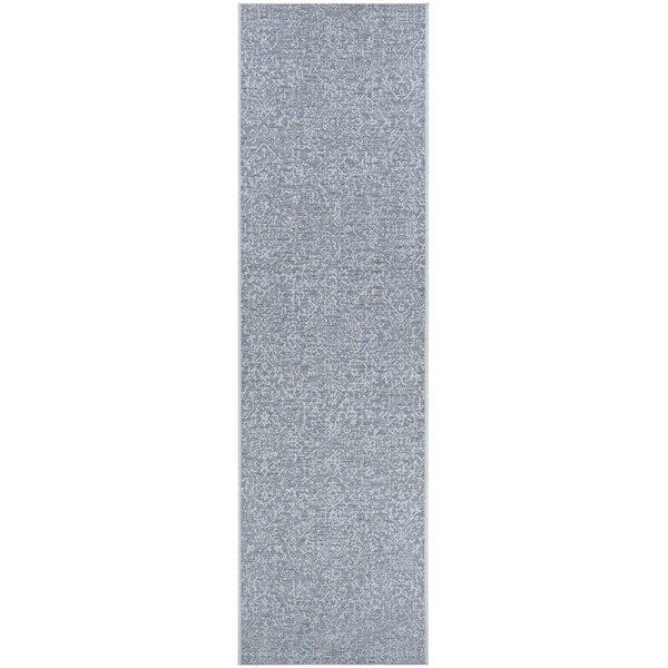 Kraatz Palmette Gray Area Rug
