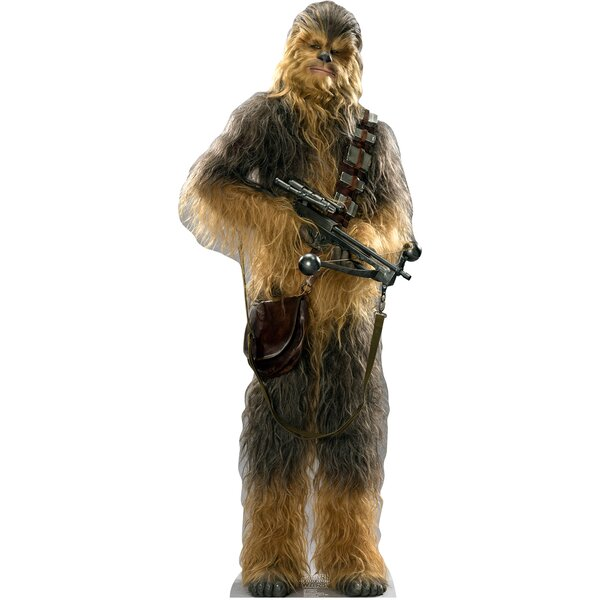 Star Wars Episode VII:The Force Awakens Chewbacca Cardbord Cutout by Advanced Graphics