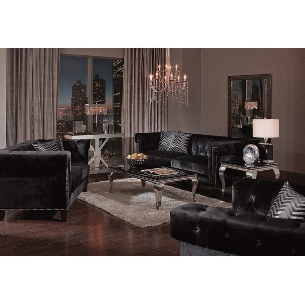 Stjean Standard Configurable Living Room Set By Everly Quinn