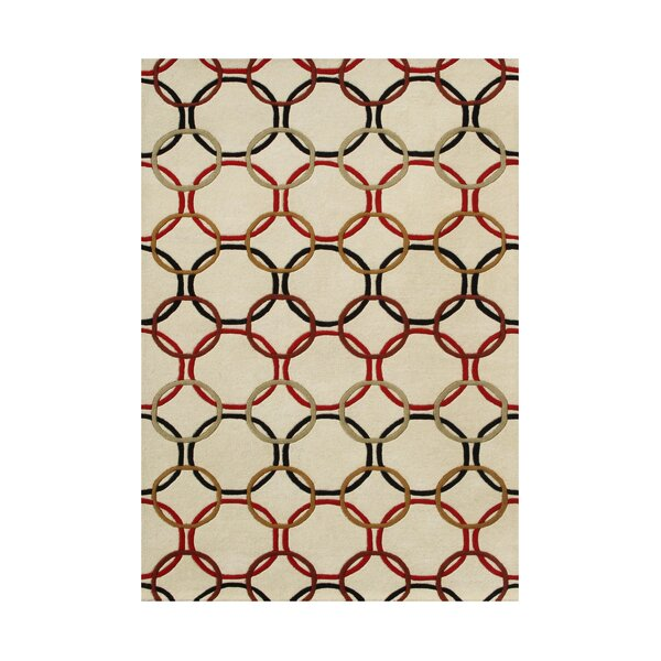 Suver Hand-Tufted Ivory Area Rug by The Conestoga Trading Co.
