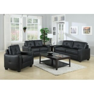 Mendonca 3 Piece Living Room Set by Ebern Designs
