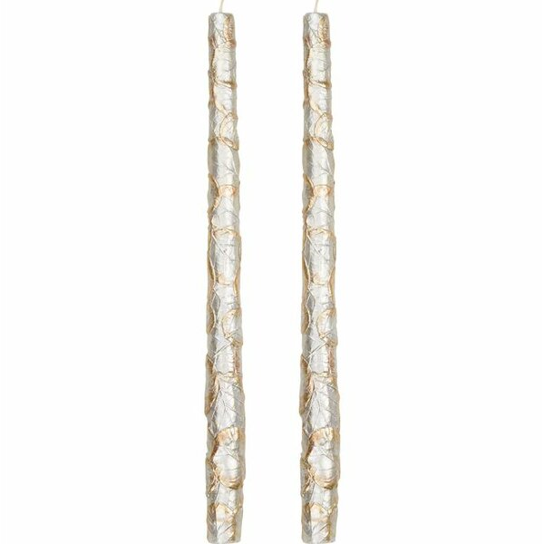 Leaf Taper Candle (Set of 2) by Three Posts