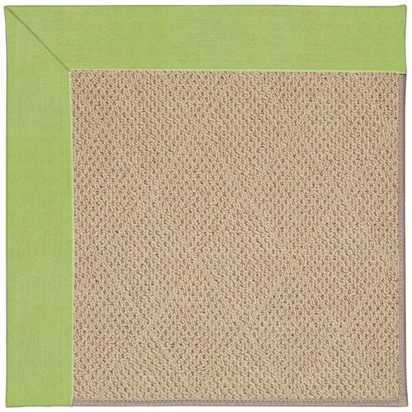 Lisle Machine Tufted Parakeet/Brown Indoor/Outdoor Area Rug by Longshore Tides