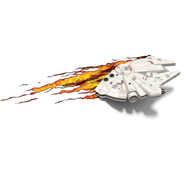 3D EP.7 Star Wars Millennium Falcon Deco 4-Light Night Light by 3D Light FX