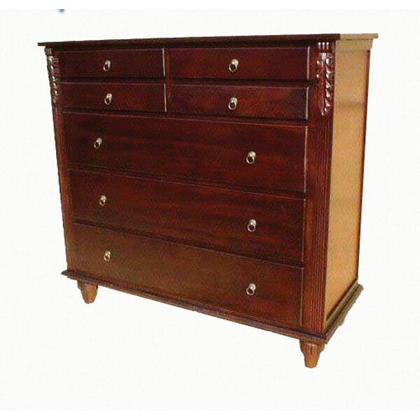 British 7 Drawer Dresser by D-Art Collection