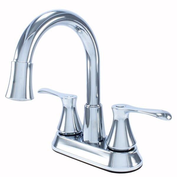 Two Handle Lavatory Centerset Bathroom Faucet With Drain Assembly By WassermanFaucets