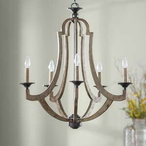 Marcoux 5-Light Candle-Style Chandelier