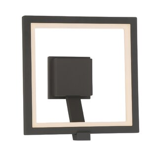 Best Reviews Stoke Bishop Modern LED Wall Mount Outdoor Sconce By Orren Ellis