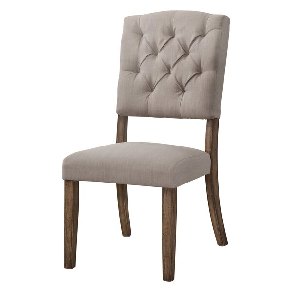 Ahner Side Upholstered Dining Chair (Set of 2) by One Allium Way One Allium Way